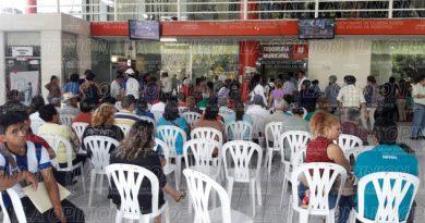 Gran movimiento en Tesorería Municipal y el Registro Civil