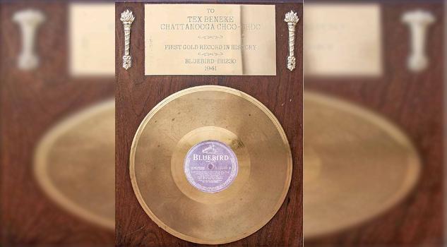 Hace 75 años se entregó el primer disco de oro por altas ventas