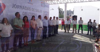 Inician jornadas de salud en Poza Rica