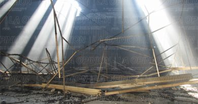 Inician recuento de los daños tras incendio en Arteli