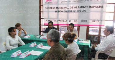 Instalan Consejo Municipal Electoral