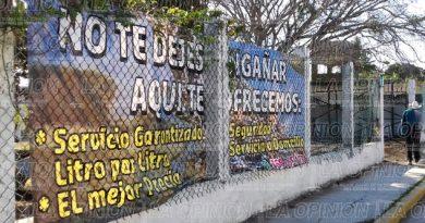 Instalan gasera sin permiso municipal
