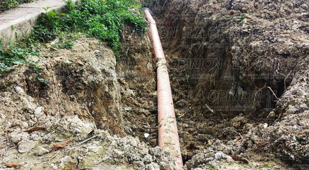 Introducción de drenaje beneficiará a más de 180 familias