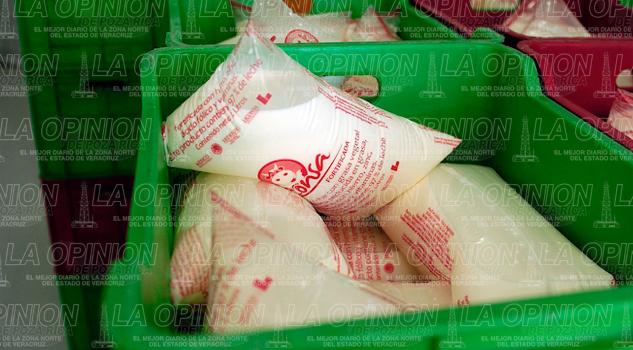 Liconsa distribuye más de 18 mil litros de leche