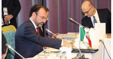 Llama Videgaray a fortalecer el libre comercio global