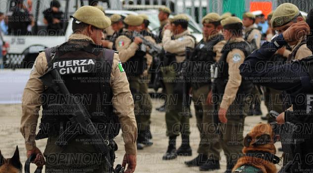 Llega a Veracruz la gendarmería
