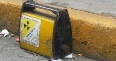 Mantienen alerta en 6 estados por robo de fuente radioactiva