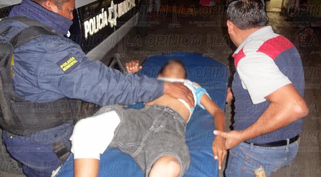 Niño atropellado por alcoholizado motociclista