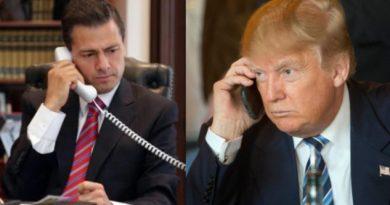 Niega Presidencia agresión de Trump a Peña