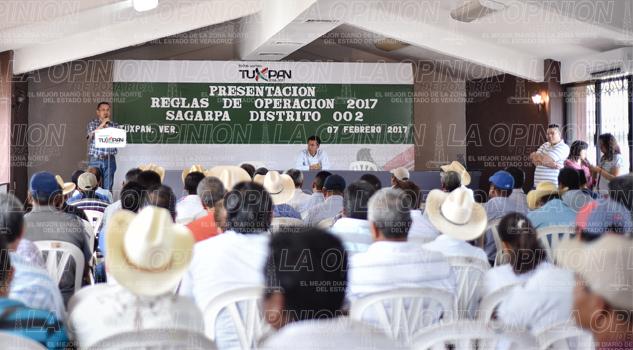 Nuevos lineamientos a programas: Sagarpa