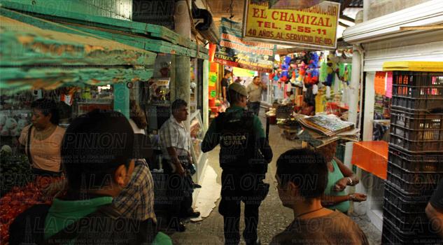 Ola de robos en el mercado