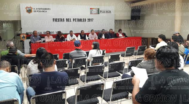 Poza Rica se prepara para las Fiestas del Petróleo