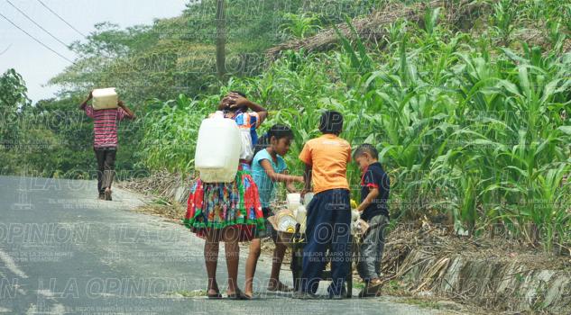Preocupa la escasez de agua