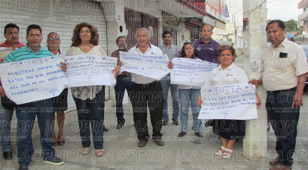Protesta IVEA contra Sefiplan