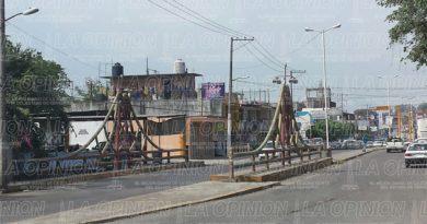 Puente emblemático de Poza Rica no ha recibido mantenimiento