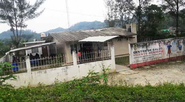 Quejas en la Vicente Herrera por malas instalaciones del Centro de Salud