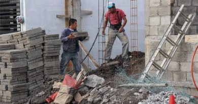 Suben materiales para construcción