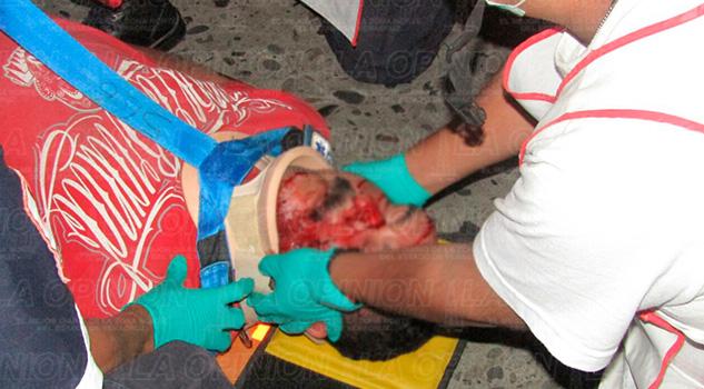 Violento Accidente Motociclista