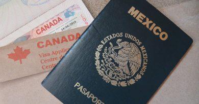 Visas para México y Canadá registraron 12,996 documentos