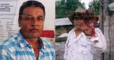 Agente municipal machetea a campesino