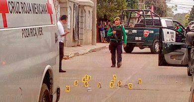 Asesinan Hombre Tiros Calle Pánuco