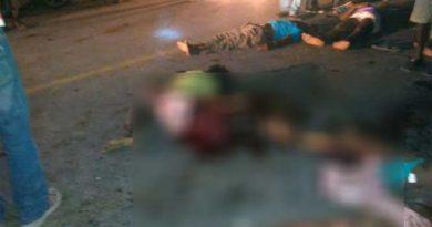 Autobús arrolla a una multitud en Haití