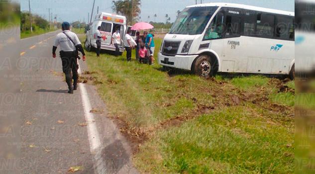 Autobus Despistado Carretera Lesionados