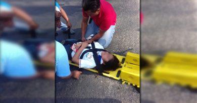 Cuatro heridos durante choque