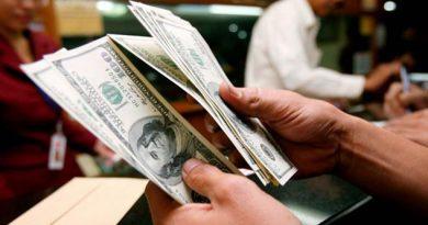Dólar se vende en 20.10 pesos