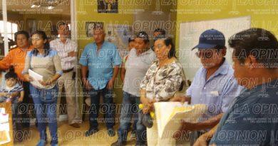 Denuncian abusos del Agente Municipal de Escolín