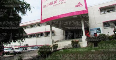 Desaparecen 360 mdp para el Hospital de Especialidades de Tuxpan