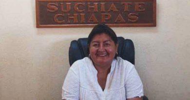 Detienen a la alcaldesa de Suchiate, Chiapas