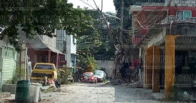 Estragos por ampliación de vivienda