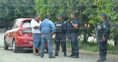 Filtros de Policía azoran a taxistas