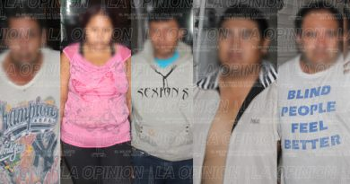 Fiscalía hunde a 5 secuestradores