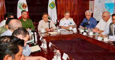 Gobernador Veracruz Reunión Fuerzas Seguridad