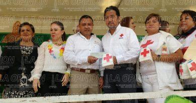 Inicia colecta nacional de la Cruz Roja en Tihuatlán