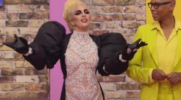 Lady Gaga es travesti