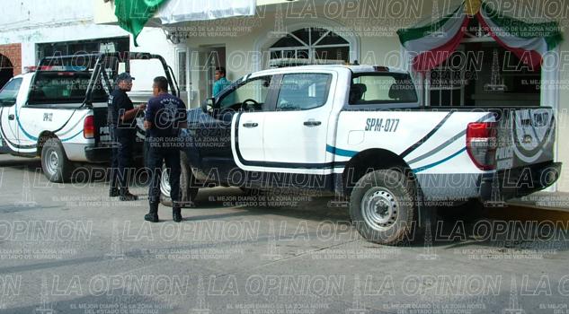 Llegan armas para policías
