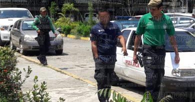 Llevan a declarar a Jesús Alberto Martínez Flores, supuesto elemento de tránsito