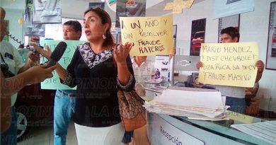 Manifiestan Fraude Chevrolet Álamo Poza Rica