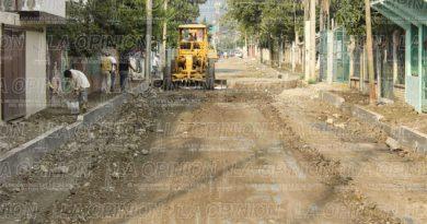 Menos obras para la periferia de Poza Rica