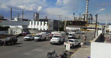 Muere petrolera por explosión en Salamanca