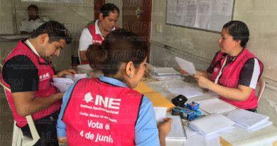 Observadores electorales no se han registrado