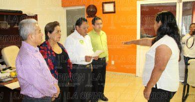 Nombran a nueva agente municipal de Plan de Ayala