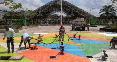 Reinaugurarán la fuente musical de la Plaza Cívica