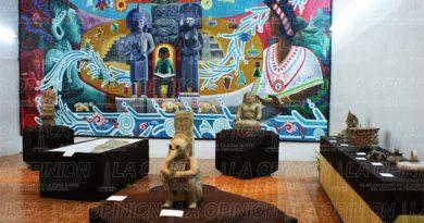 Rescatan museo y zona arqueológica