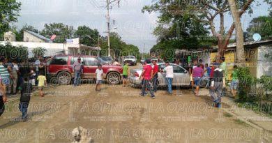 Riesgo de enfrentamiento en El Chote, Coatzintla
