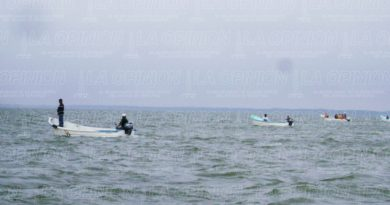 Se ahoga pescador