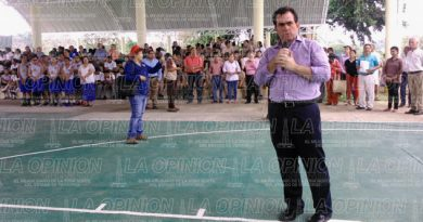 Supervisa José Yunes los trabajos en el puente Barriles-Bicentenario